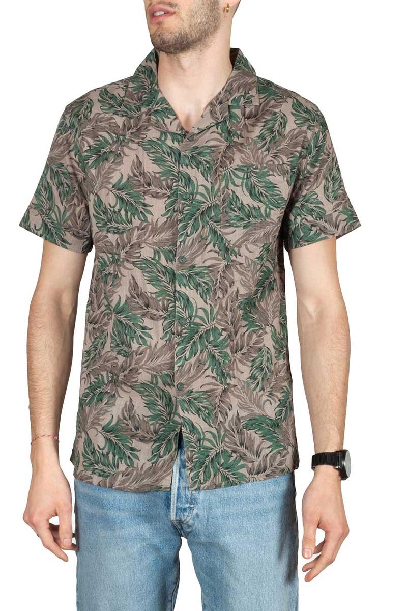 Anerkjendt Leo κοντομάνικο πουκάμισο με τσεπάκι - 9219046