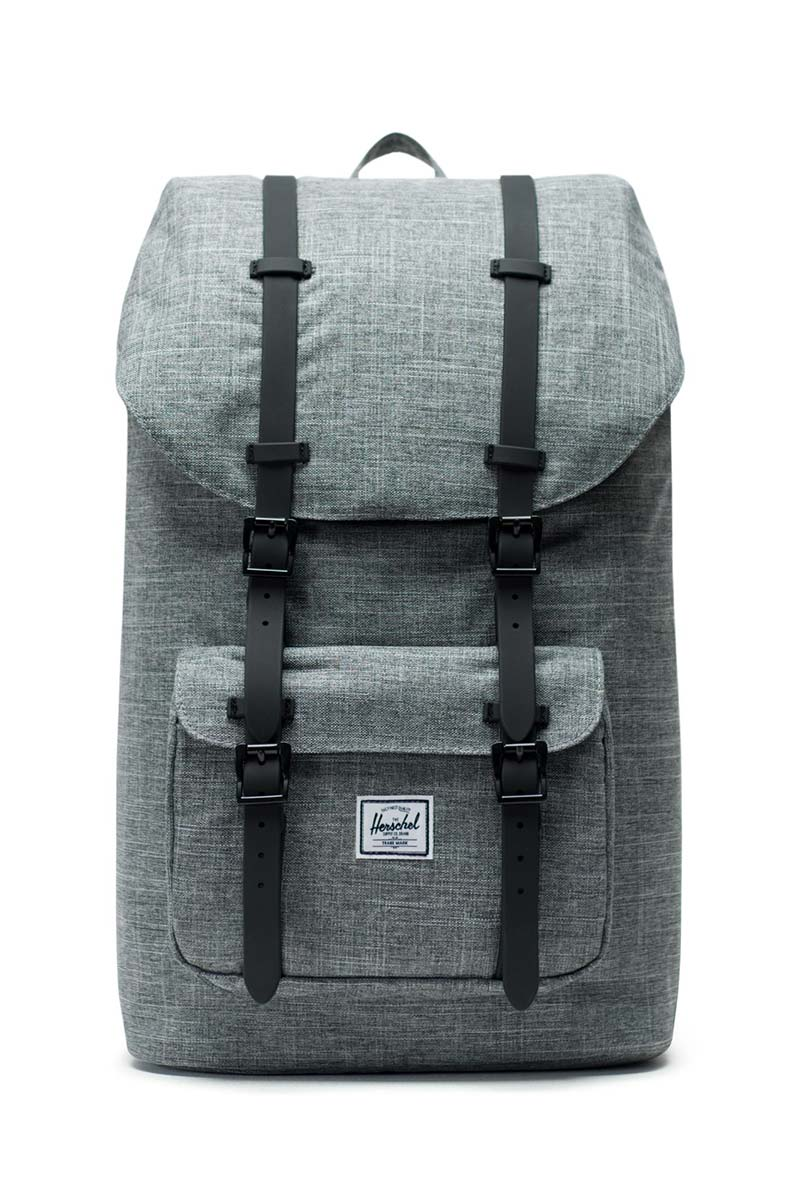 Herschel Supply Co. Little America backpack raven crosshatch/black - 10014-01132-os