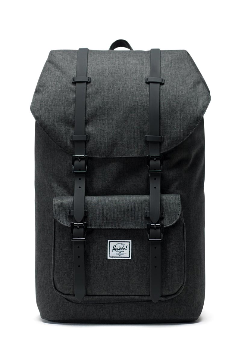 0d3e14a82eb Herschel backpack Little America black crosshatch