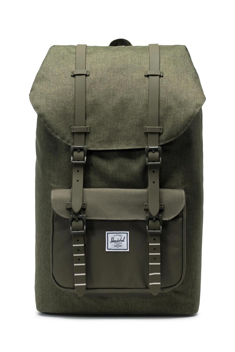 Herschel Supply Co. Little America backpack olive night crosshatch olive  night - 10014- 2e734535a90