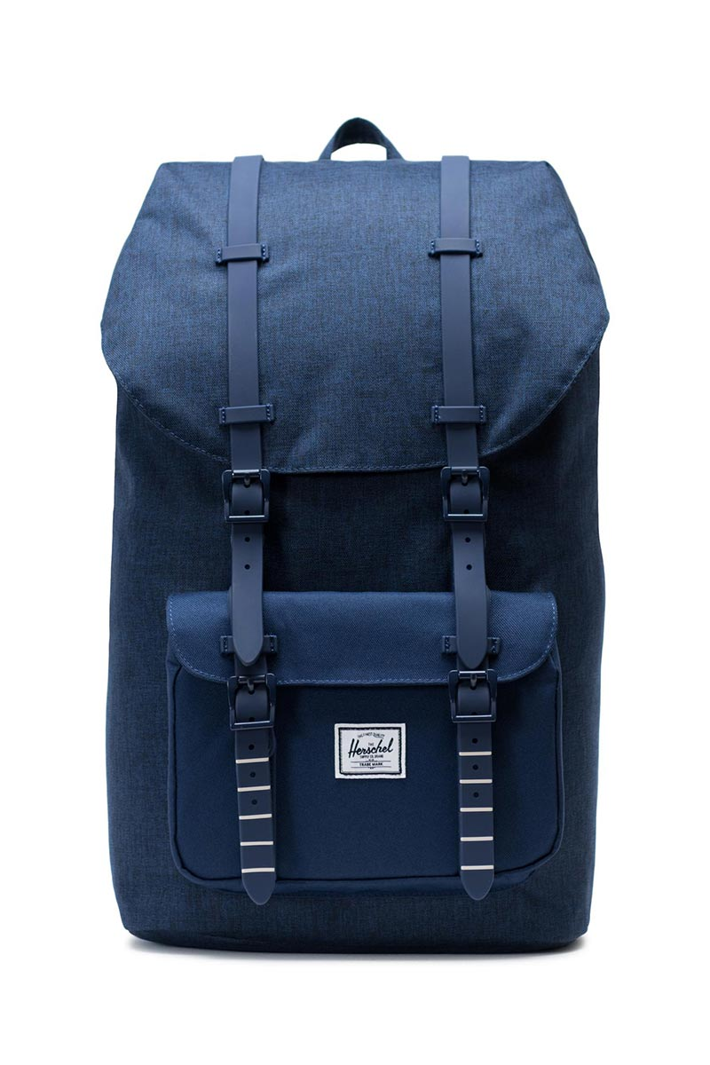 Herschel Supply Co. Little America backpack medieval blue crosshatch/medieval blue