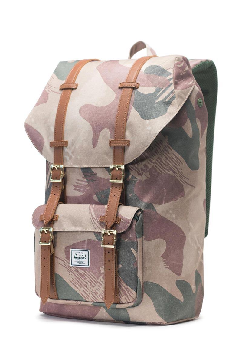 Herschel Supply Co. Little America backpack brushstroke camo