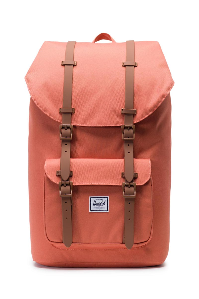 Herschel Supply Co. Little America backpack apricot brandy/saddle brown