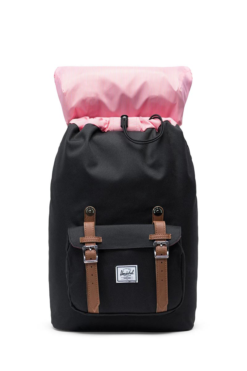 Herschel Supply Co. Little America mid volume backpack black/tan
