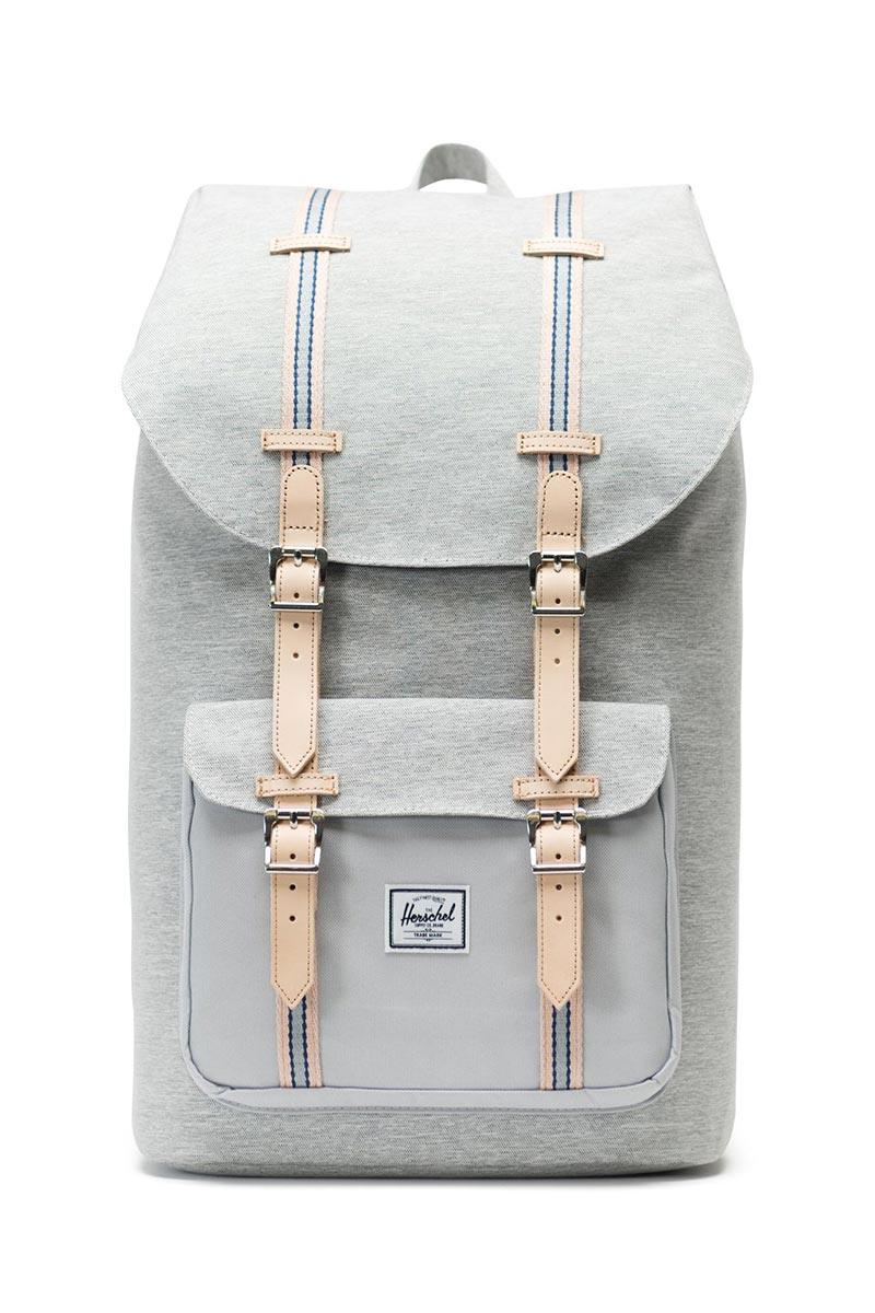 Herschel Supply Co. Little America Offset backpack light grey crosshatch/high rise