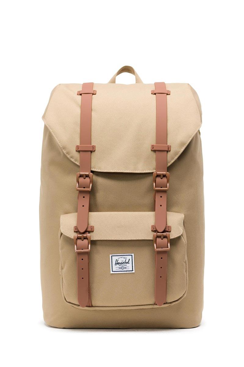 Herschel Supply Co. Little America mid volume backpack kelp/saddle brown