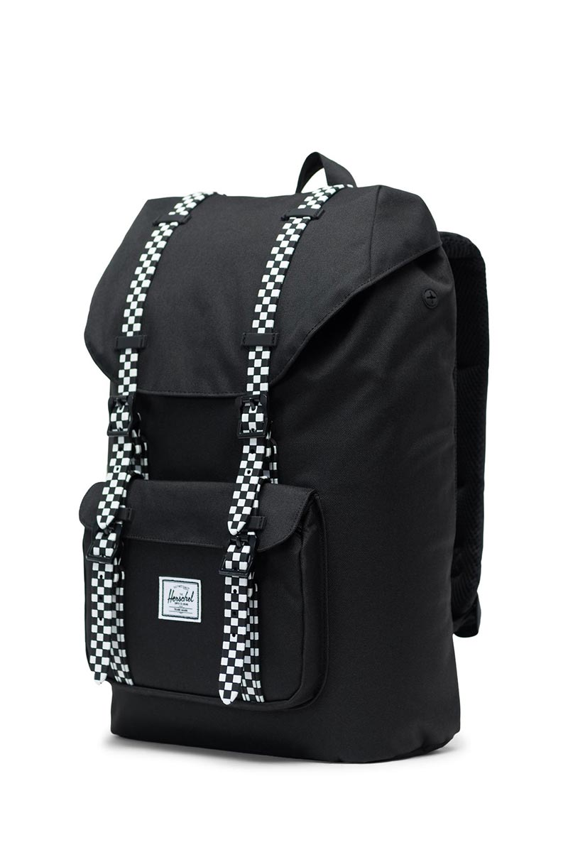 Herschel Supply Co. Little America mid volume backpack black/checkerboard