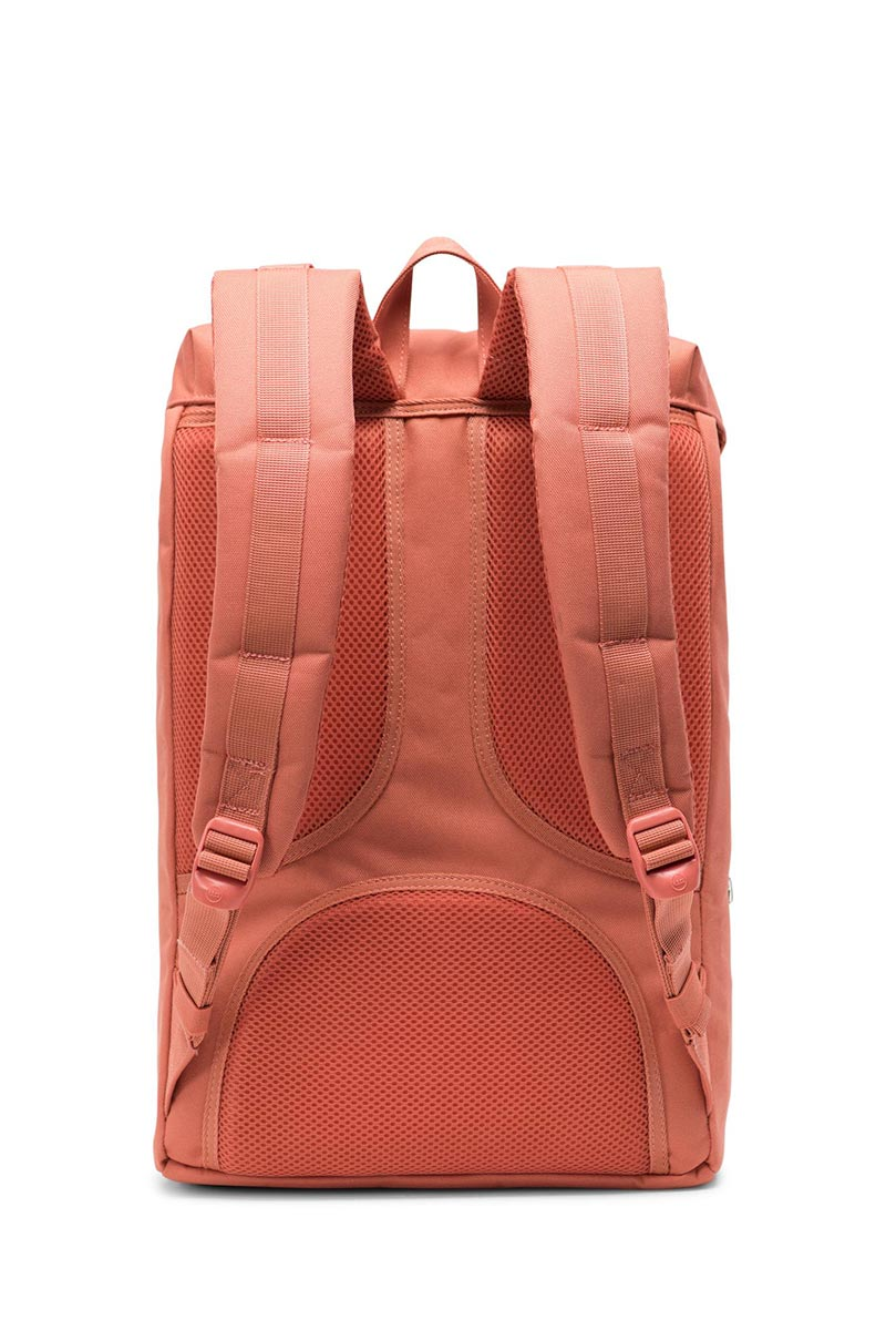 Herschel Supply Co. Little America mid volume backpack apricot brandy/saddle brown