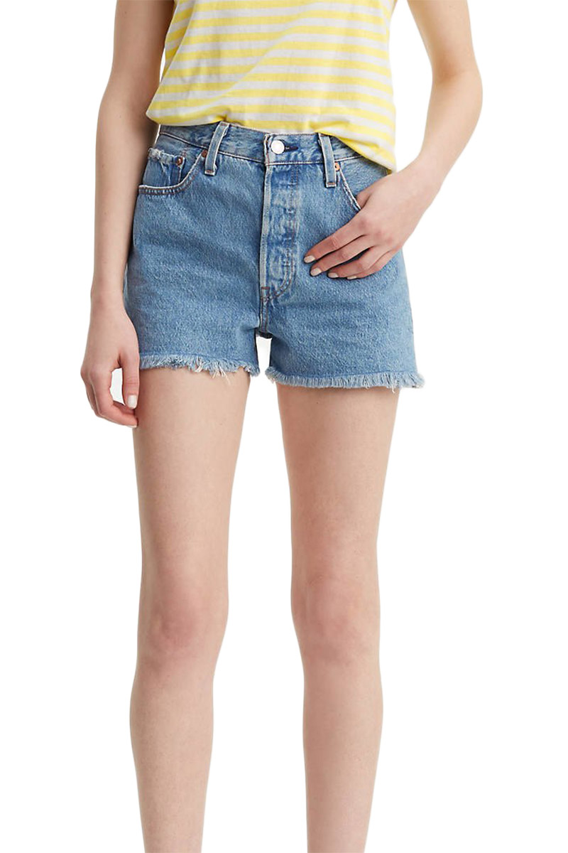 Levi's 501® high rise shorts flat broke