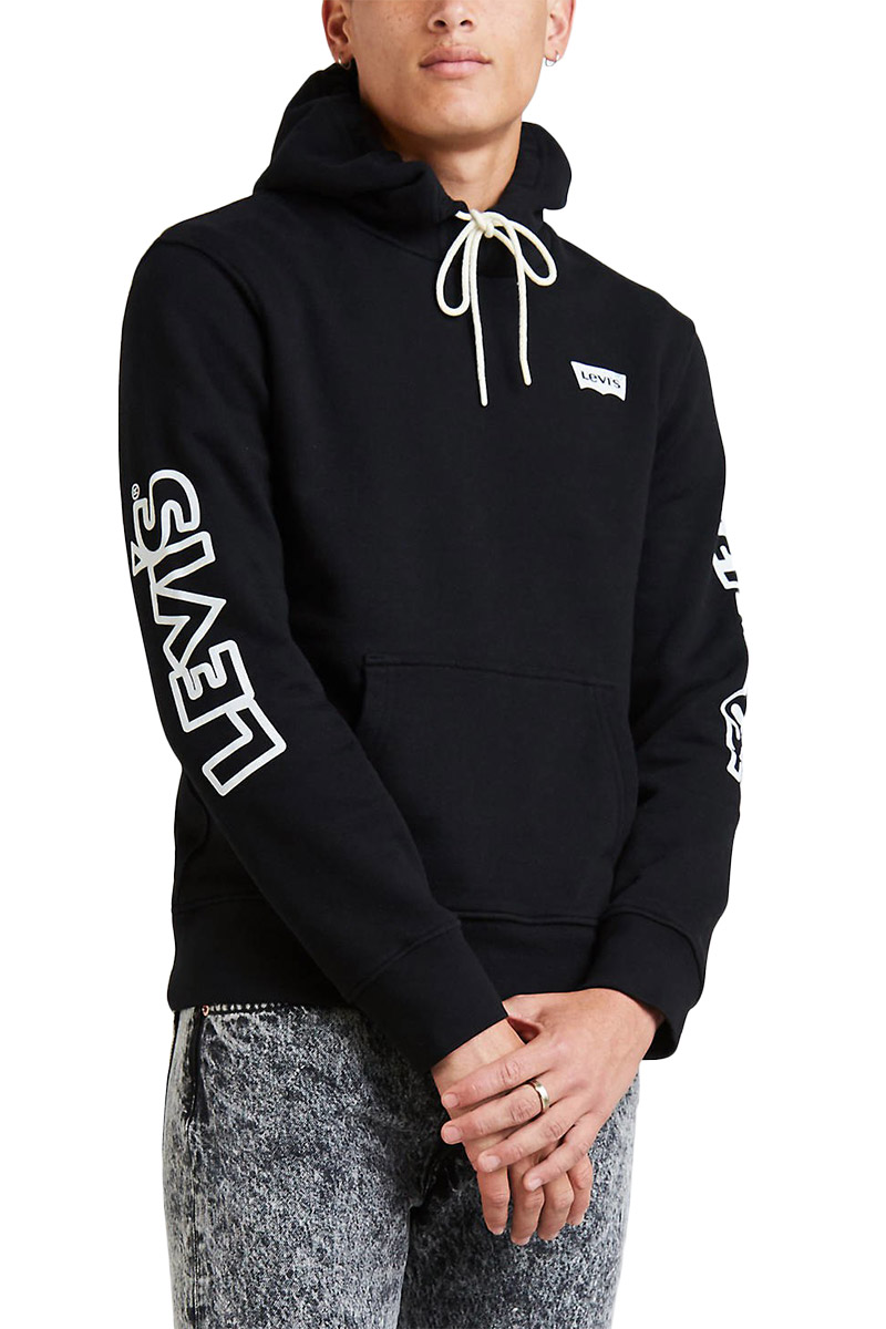 Levi's® X Disney Mickey Mouse graphic hoodie black - 19491-0047