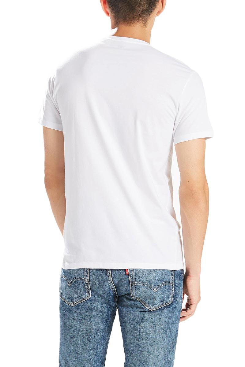 Levi's® slim fit crewneck T-shirt white