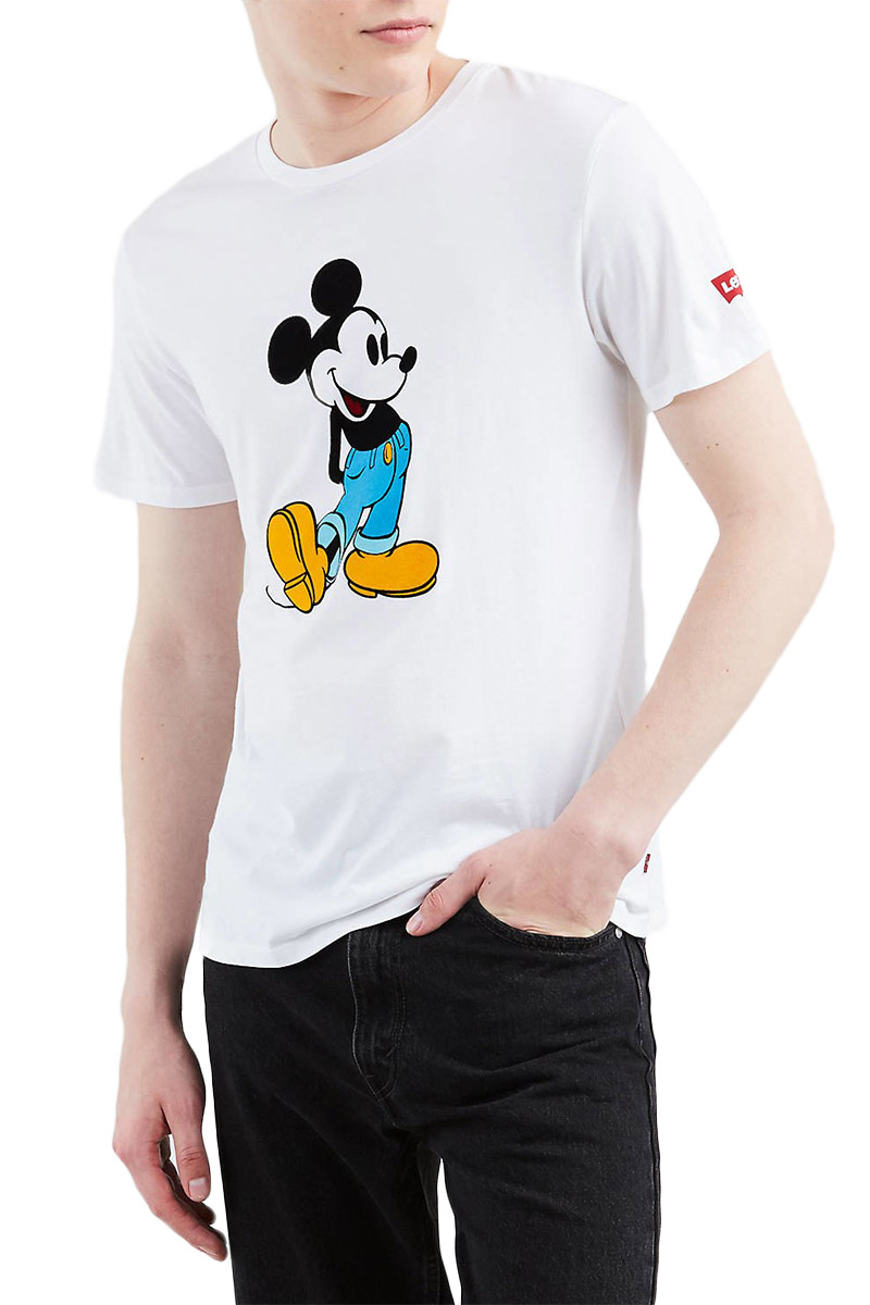 Levi's® X Disney Mickey Mouse classic graphic t-shirt white