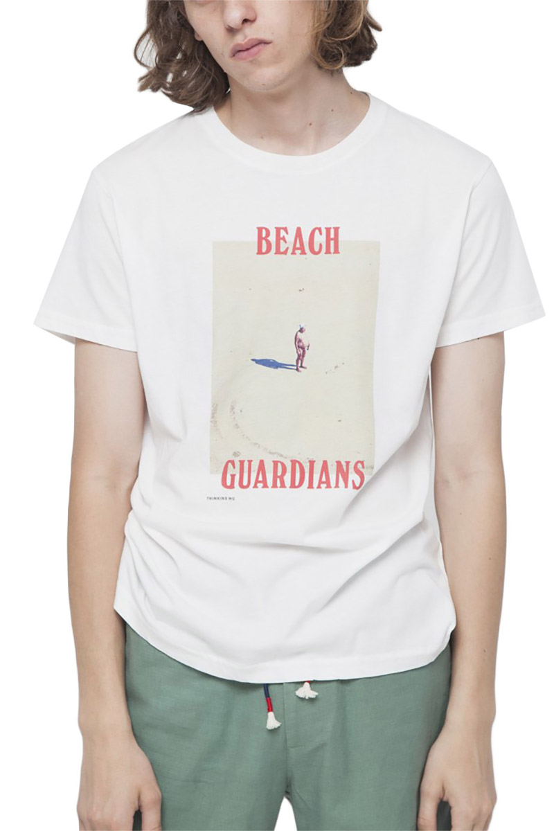 4d6fa6f75ba1 Thinking Mu organic cotton t-shirt Beach Guardians - mts00081