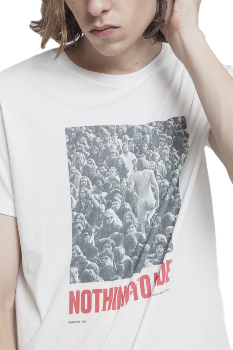 Thinking Mu organic cotton t-shirt Nothing to hide