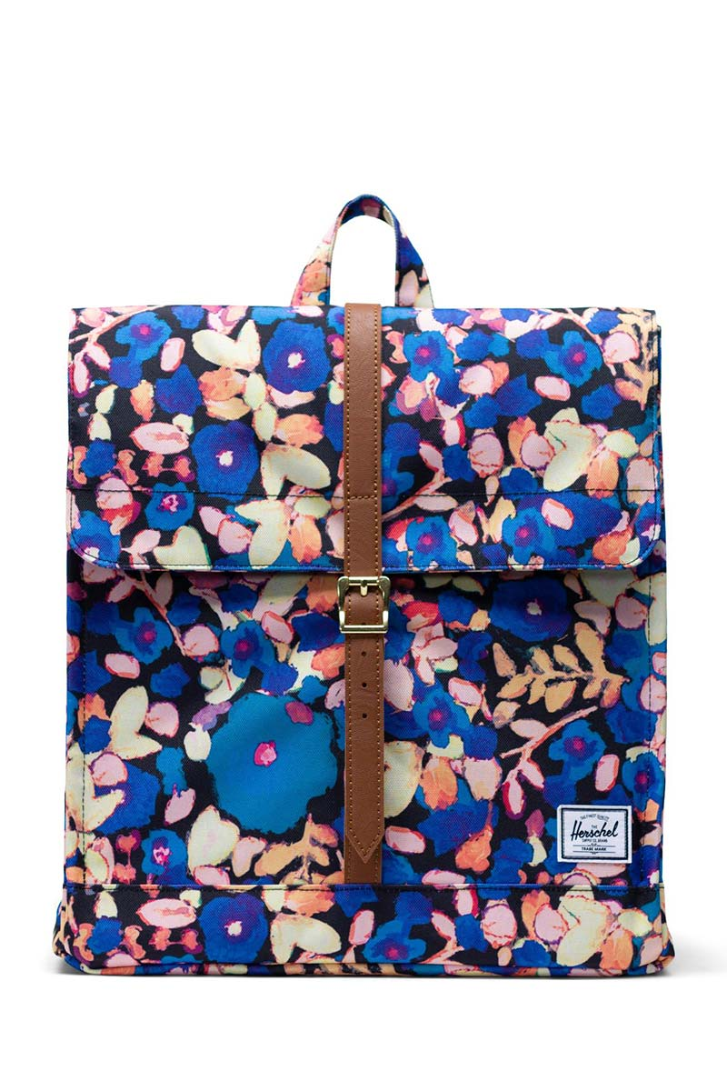 Herschel Supply Co. City mid volume backpack painted floral/tan - 10486-02459-os