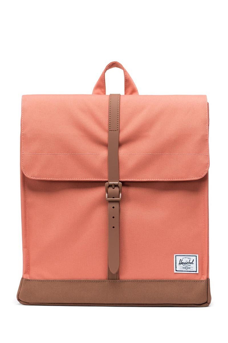 Herschel Supply Co. City mid volume backpack apricot brandy/saddle brown - 10486-02464-os