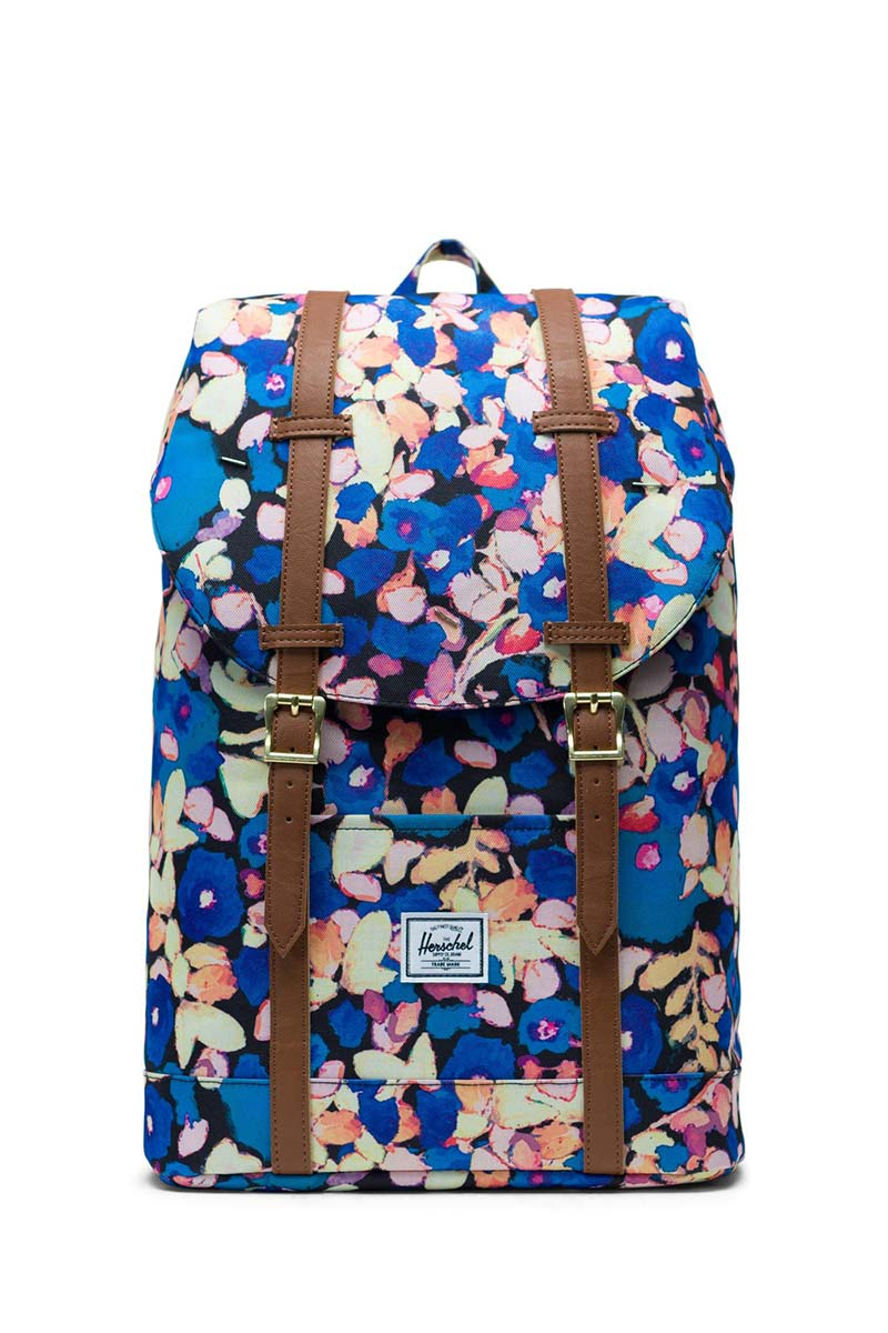 Herschel Supply Co. Retreat mid volume backpack painted floral/tan - 10329-02459-os