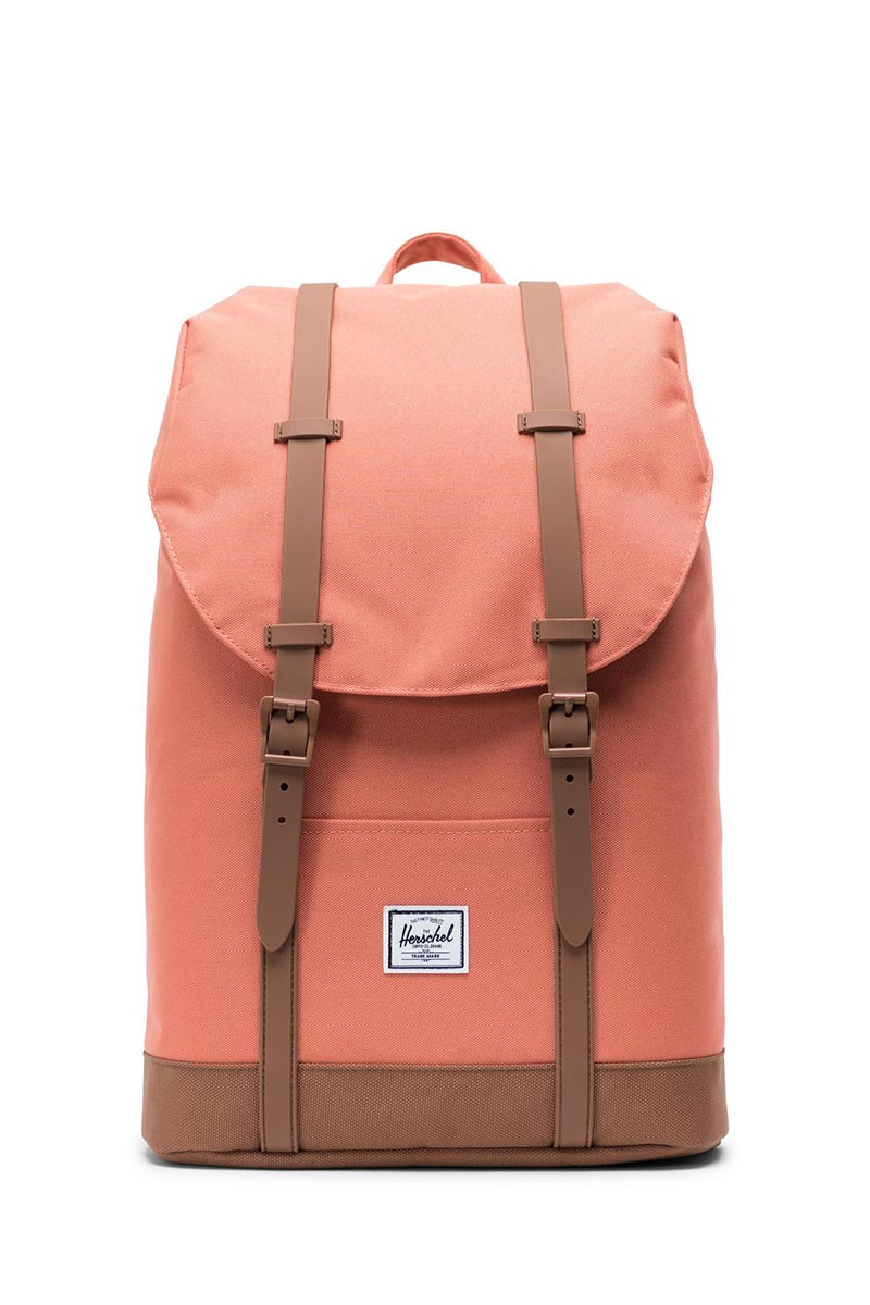 Herschel Supply Co. Retreat mid volume backpack apricot brandy/saddle brown - 10329-02464-os