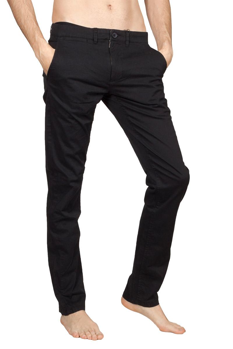 Gnious Jagow chino παντελόνι μαύρο - 16-300127-blk
