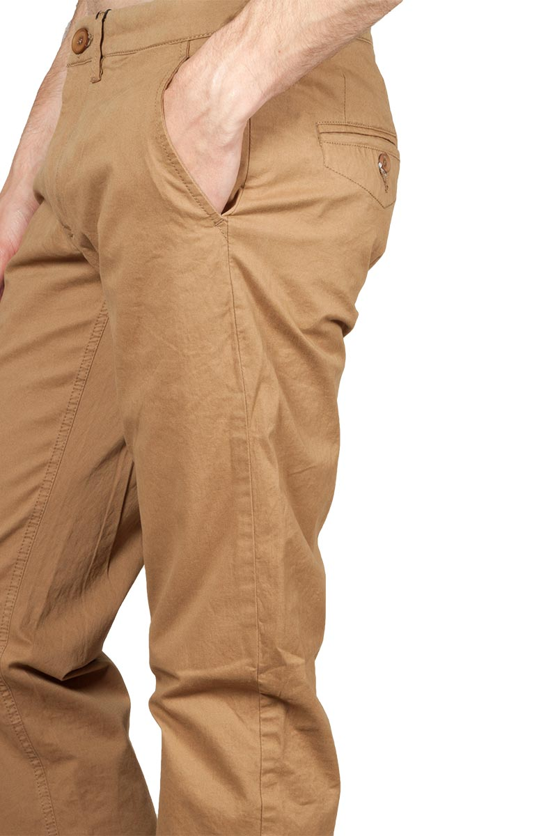 Gnious Jagow chino pants wood