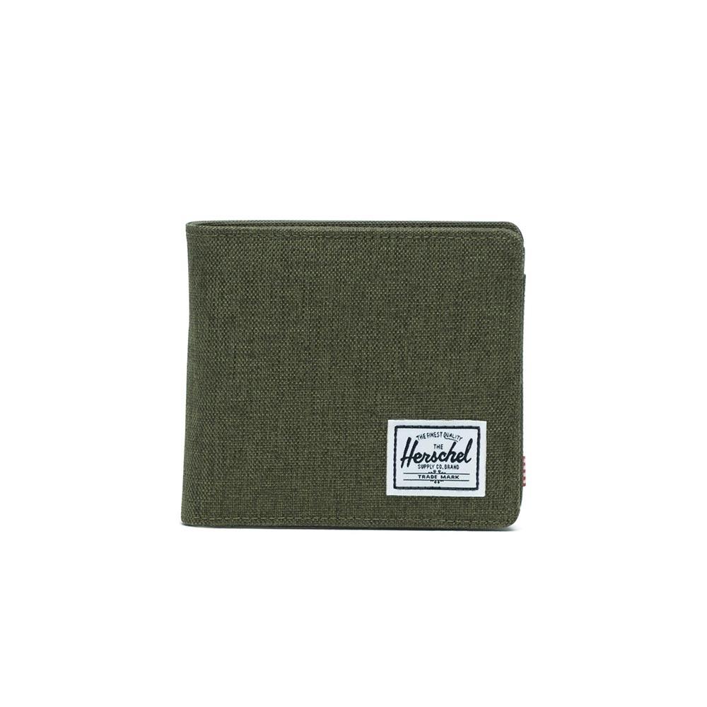 Herschel Supply Co. Hans XL coin wallet RFID olive night crosshatch/olive night - 10487-02453-os
