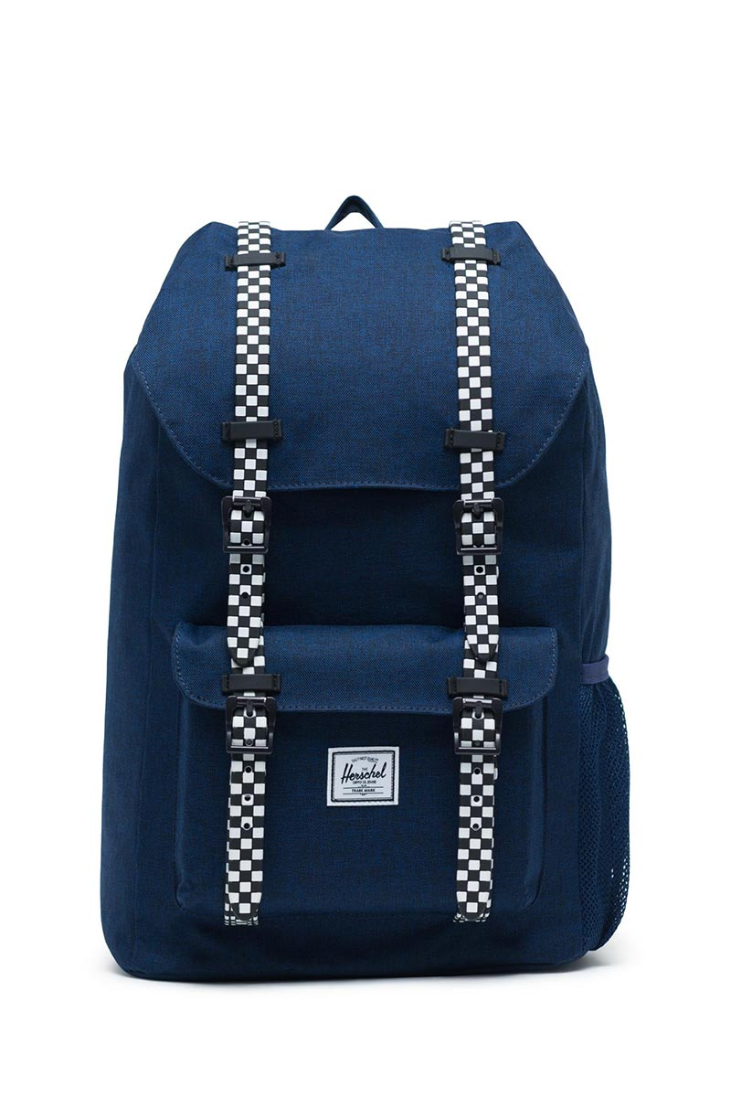 Herschel Supply Co. Little America Youth backpack medieval blue crosshatch/checkerboard - 10589-02561-os