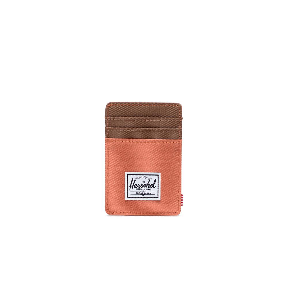 Herschel Supply Co. Raven RFID wallet apricot brandy/saddle brown - 10366-02464-os