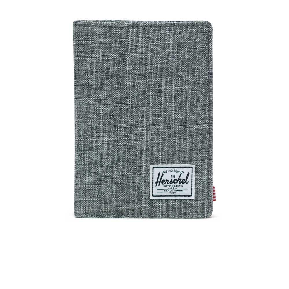 Herschel Supply Co. Raynor Passport Holder RFID raven crosshatch - 10373-00919-os