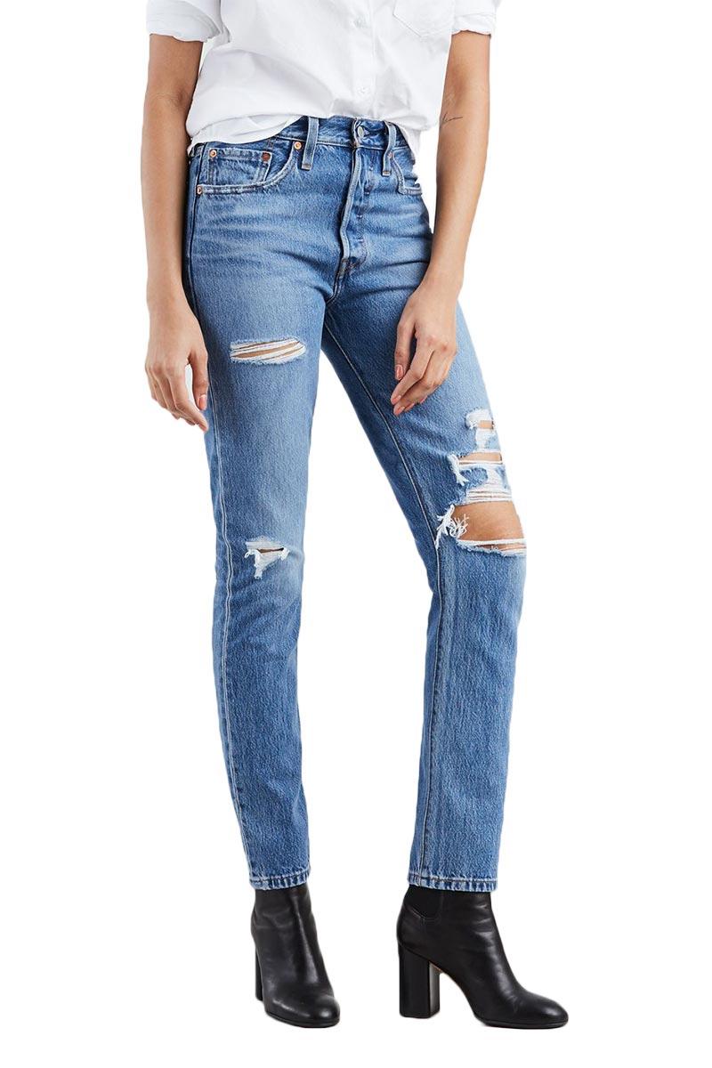 Levi's 501® skinny Jeans Nice as pie - medium indigo - 29502-0078
