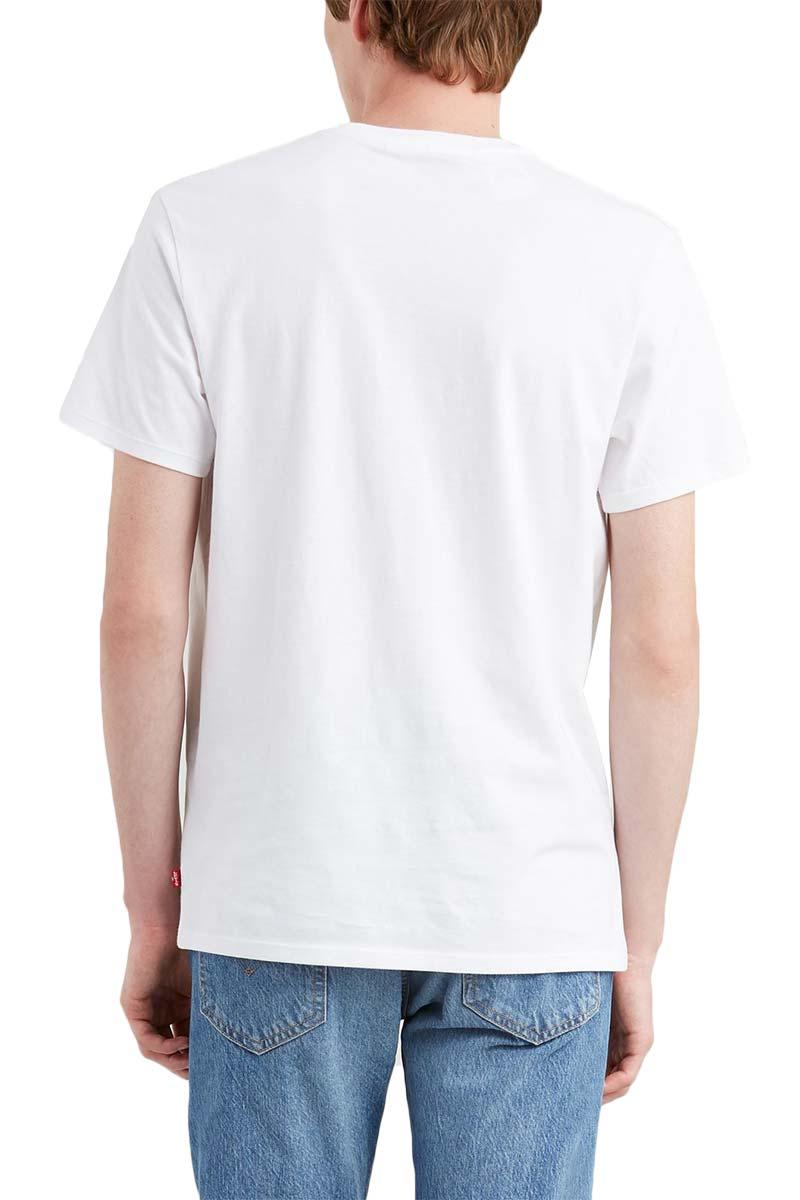 Levi's® Housemark plaid graphic t-shirt white
