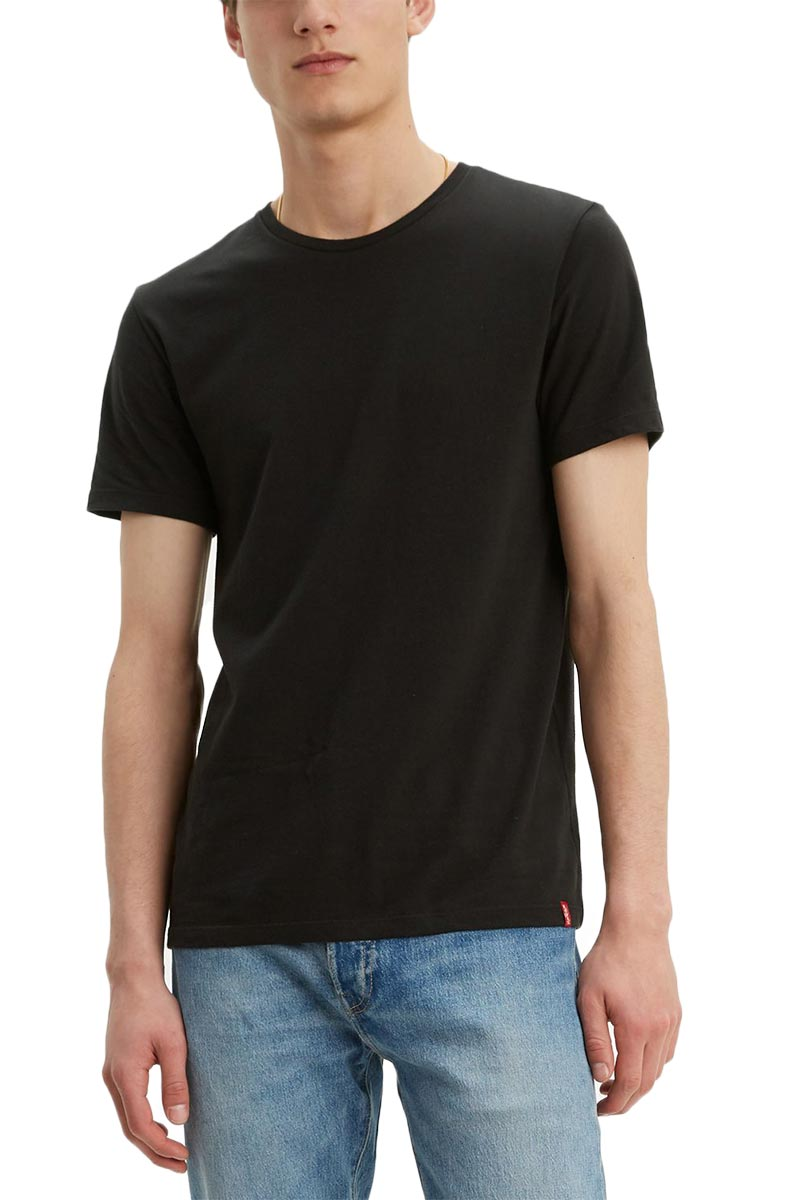 Levi's® slim fit crewneck t-shirt black - 79541-0001