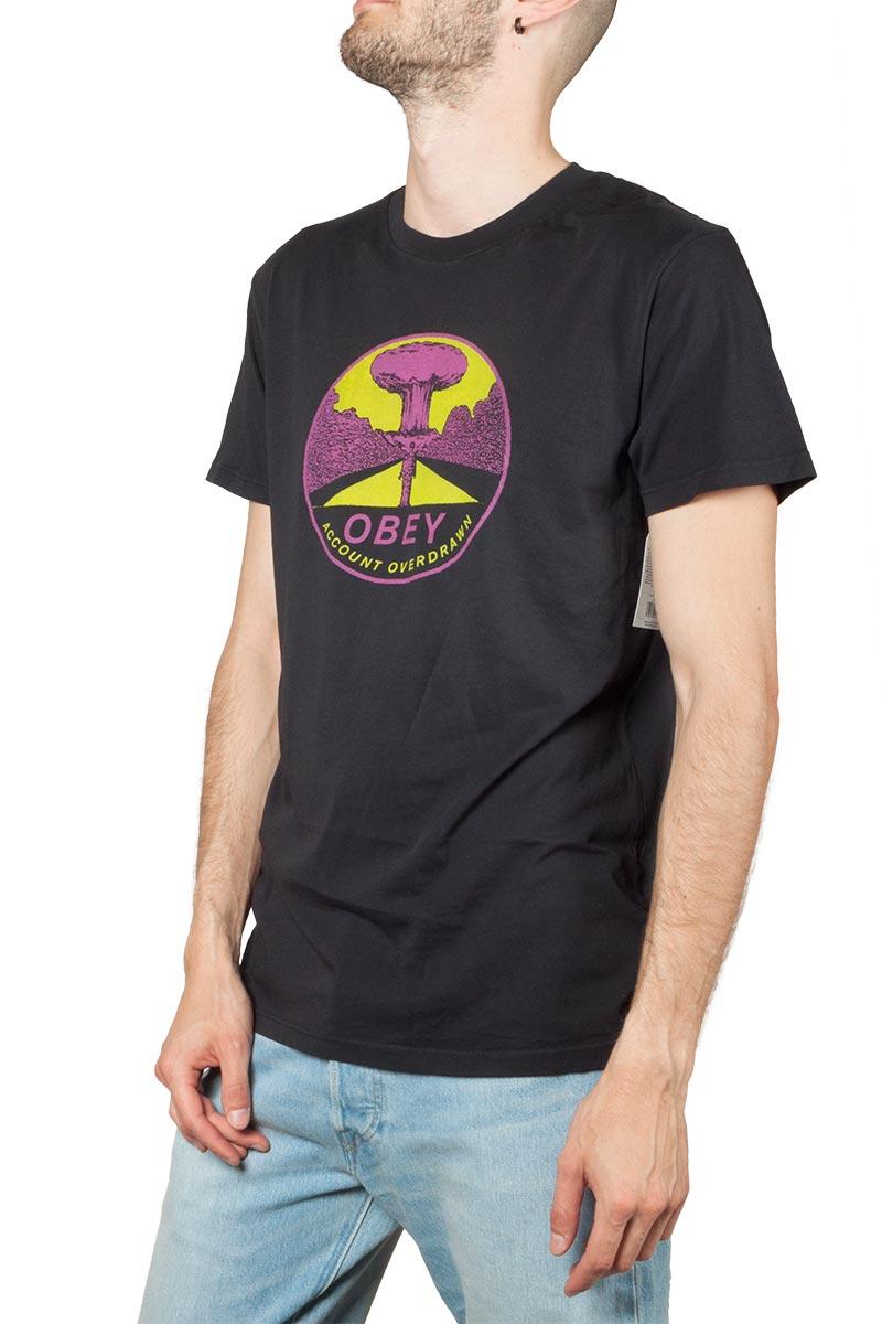 Obey Mushroom Cloud superior t-shirt off black - 166141912