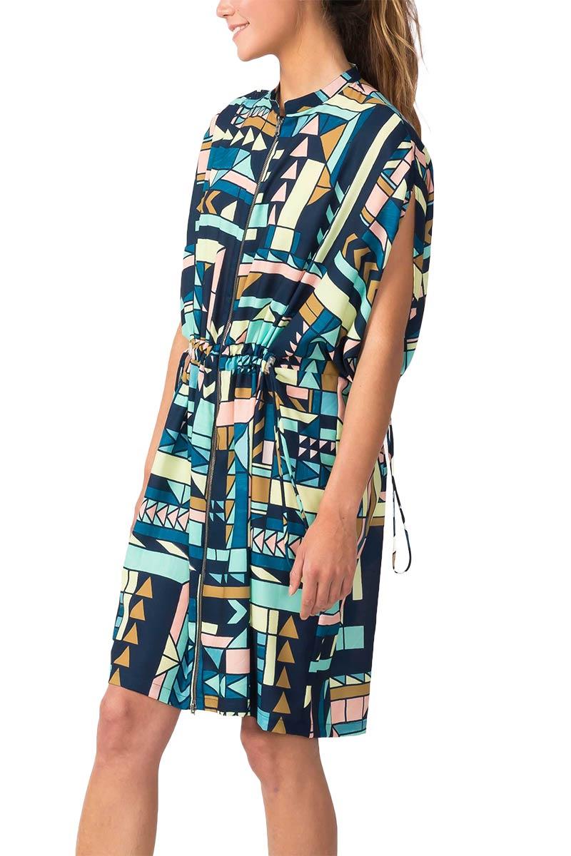 Skunkfunk Eulari Zip front dress
