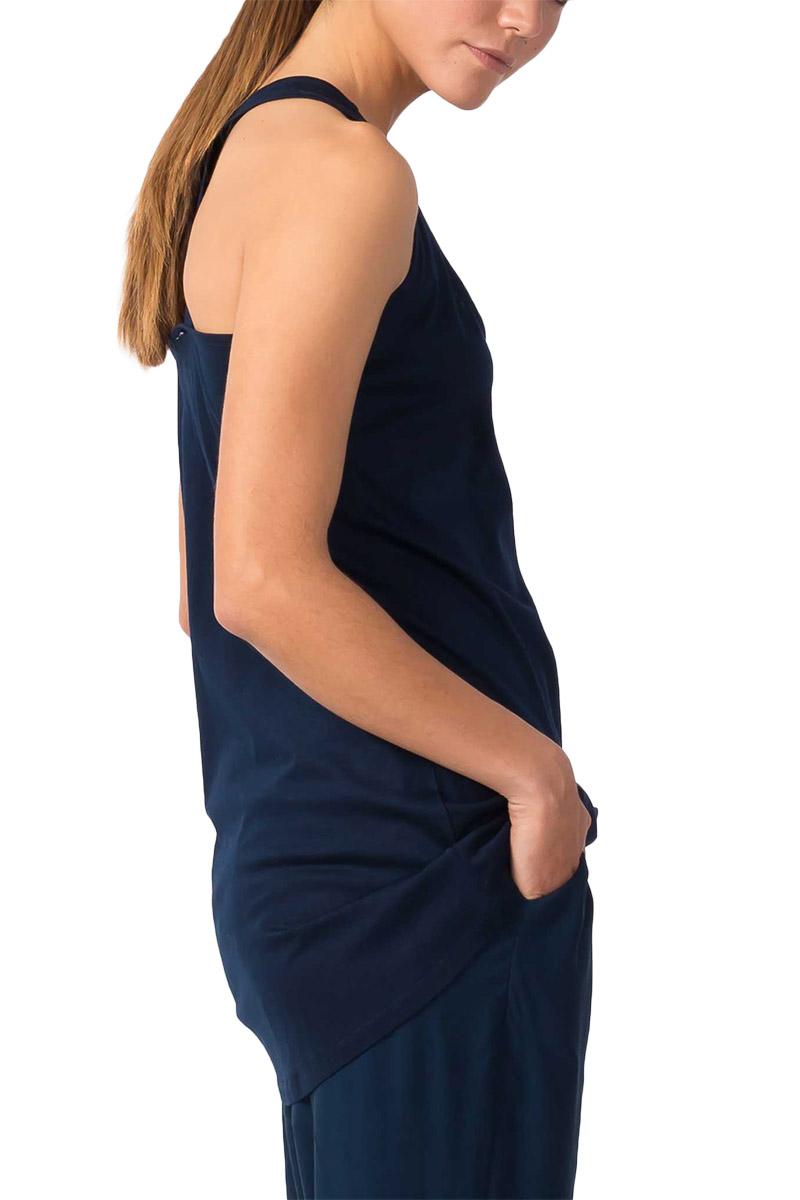 Skunkfunk Zurixe sleeveless top dark blue