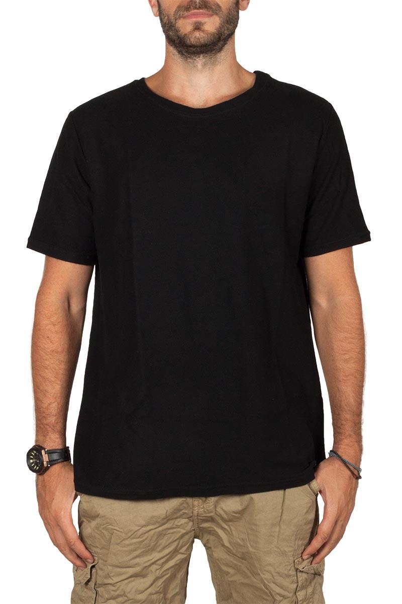 Bigbong t-shirt μαύρο - a3-3564-blk