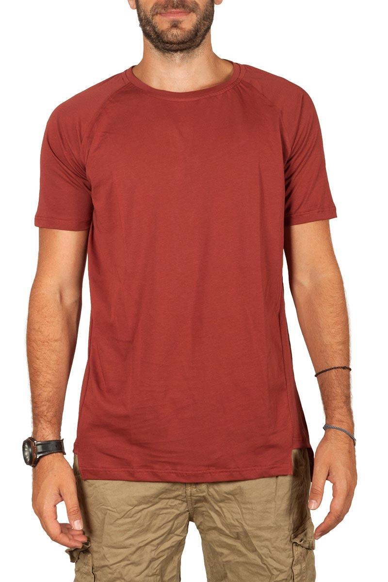 Emanuel Navaro t-shirt κεραμιδί - em-1913