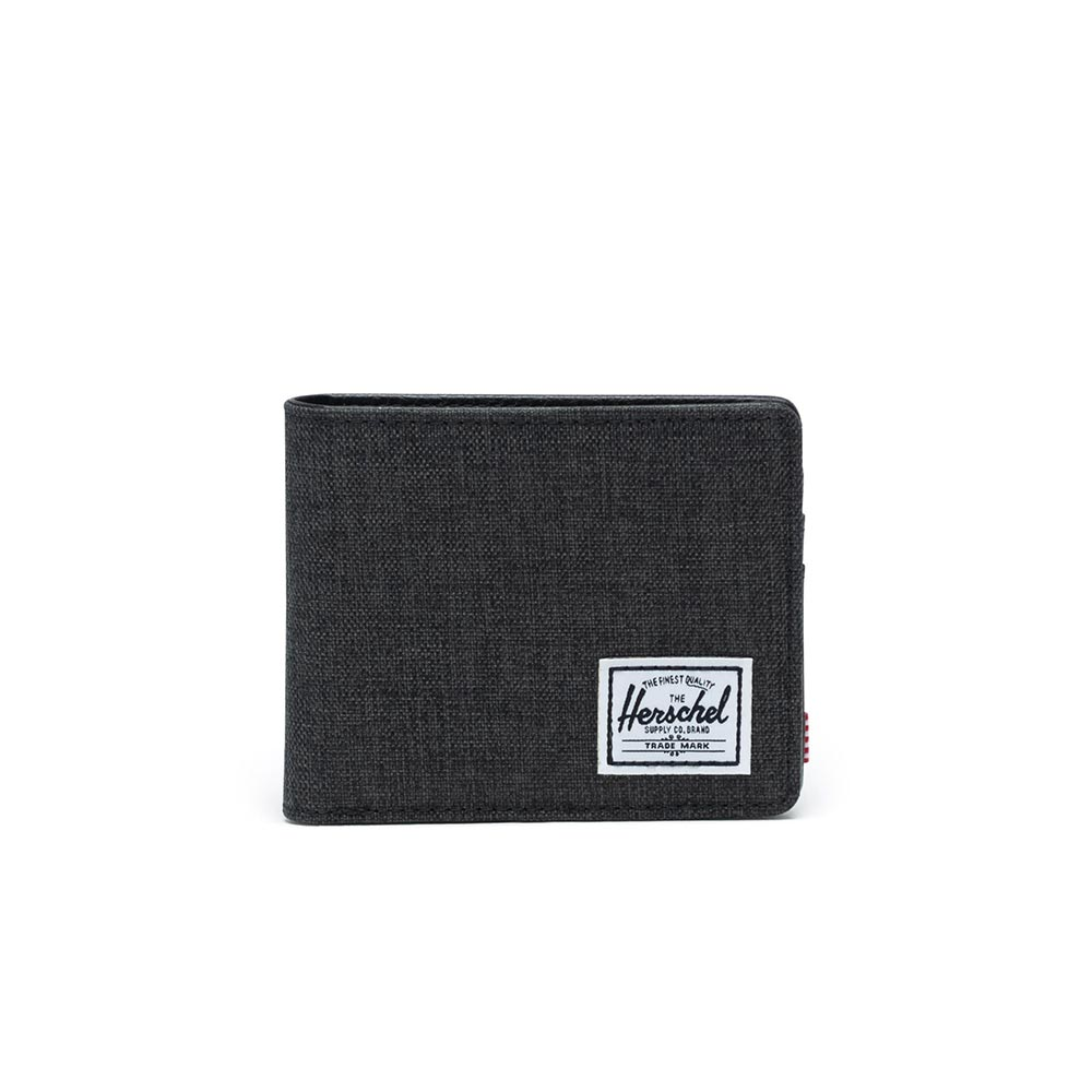 Herschel Supply Co. Hank RFID wallet black crosshatch/black - 10368-02093-os