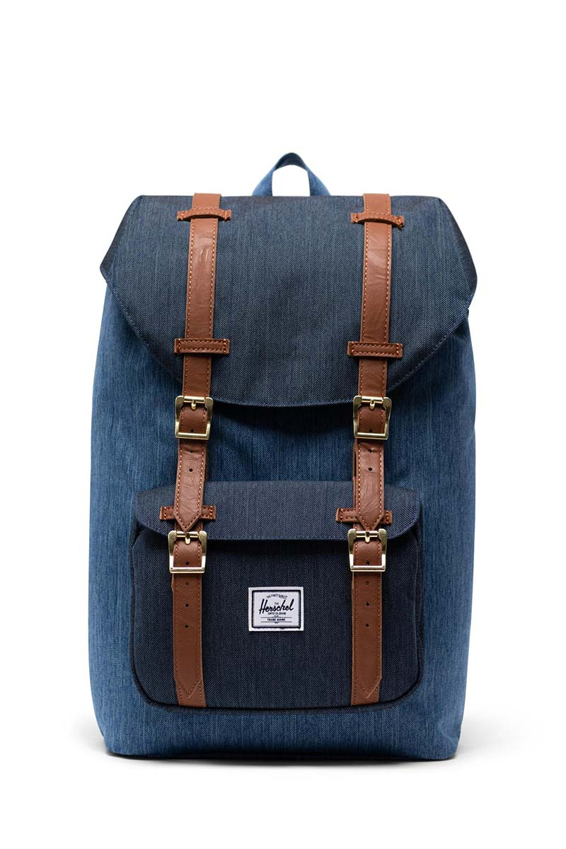 Herschel Supply Co. Little America mid volume backpack faded denim/indigo/tan - 10020-02730-os