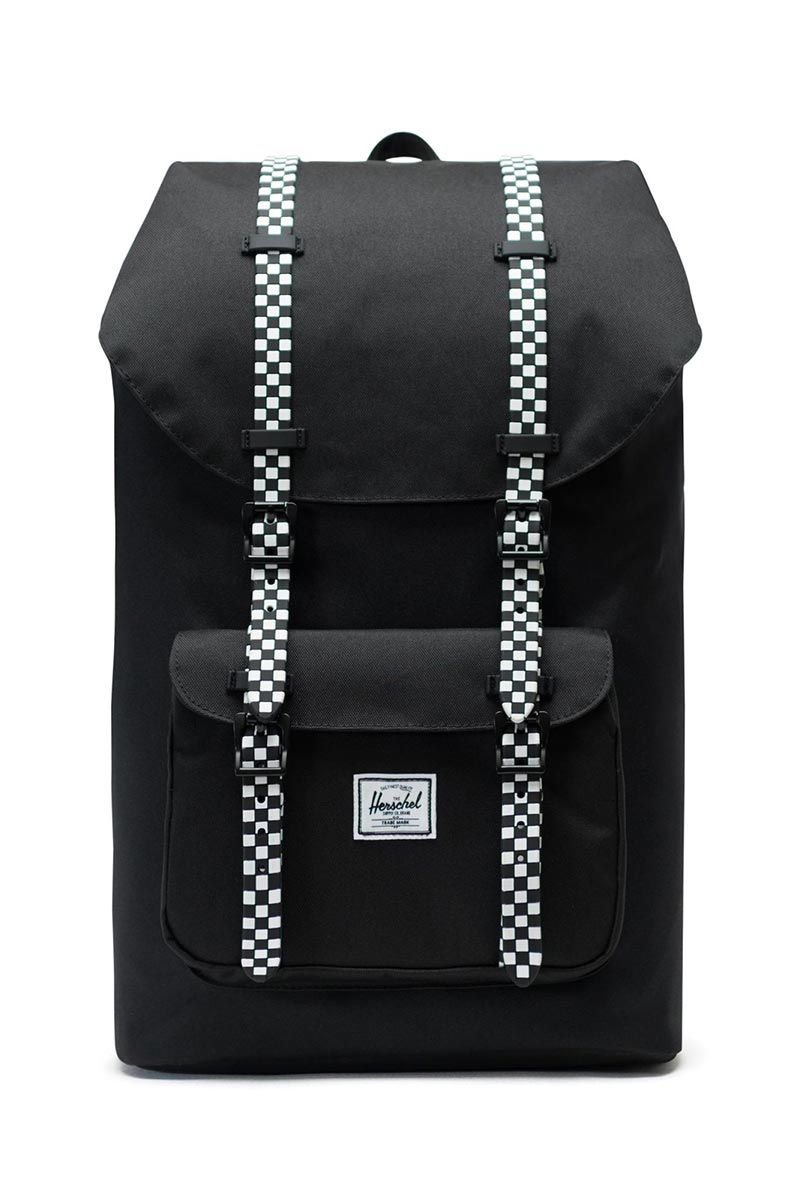 Herschel Supply Co. Little America backpack black/checkerboard - 10014-02463-os