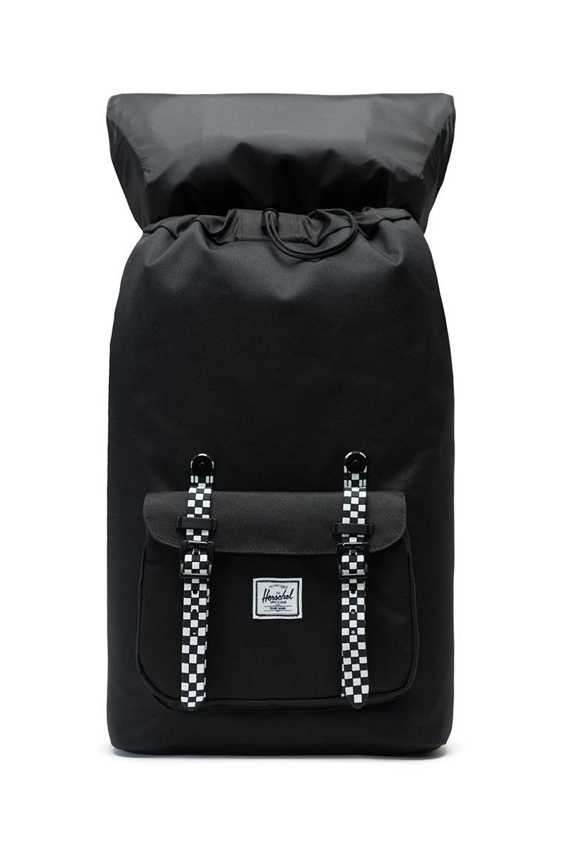 Herschel Supply Co. Little America backpack black/checkerboard