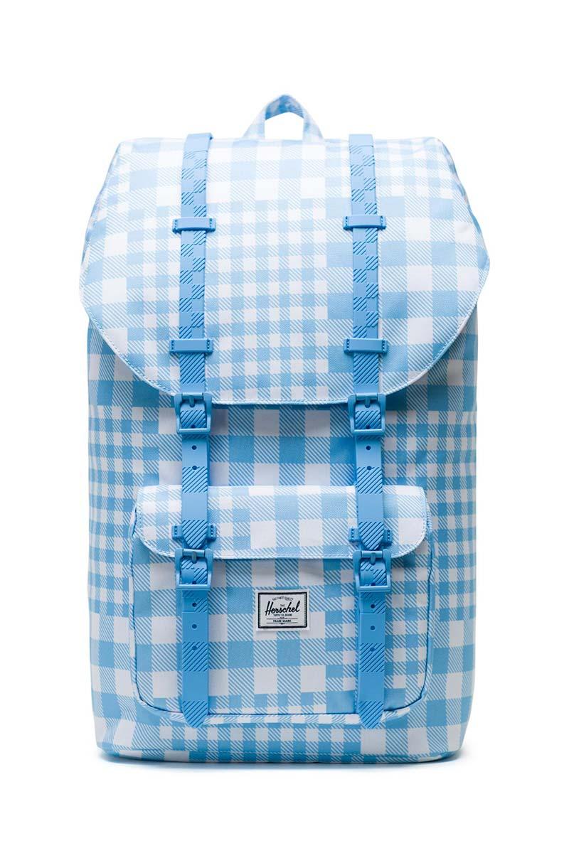 Herschel Supply Co. Little America backpack gingham alaskan blue - 10014-02732-os