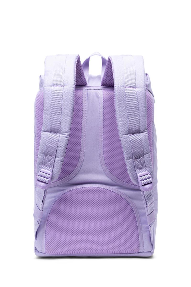Herschel Supply Co. Little America mid volume backpack lavendula crosshatch/rubber