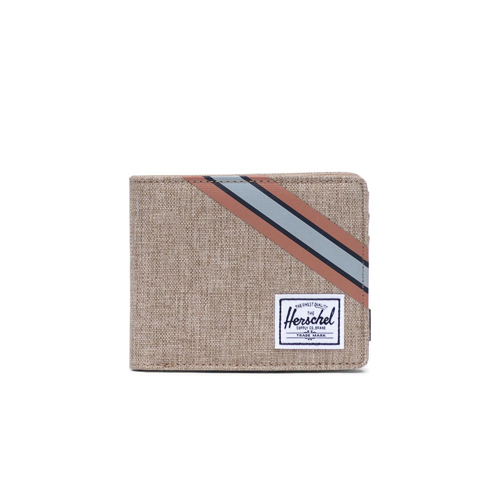 Herschel Supply Co. Roy Offset coin wallet RFID kelp crosshatch - 10403-02714-os