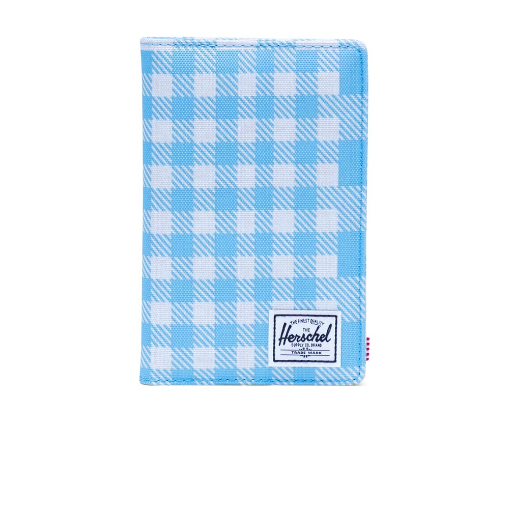 Herschel Supply Co. Search wallet RFID gingham alaskan blue - 10399-02732-os