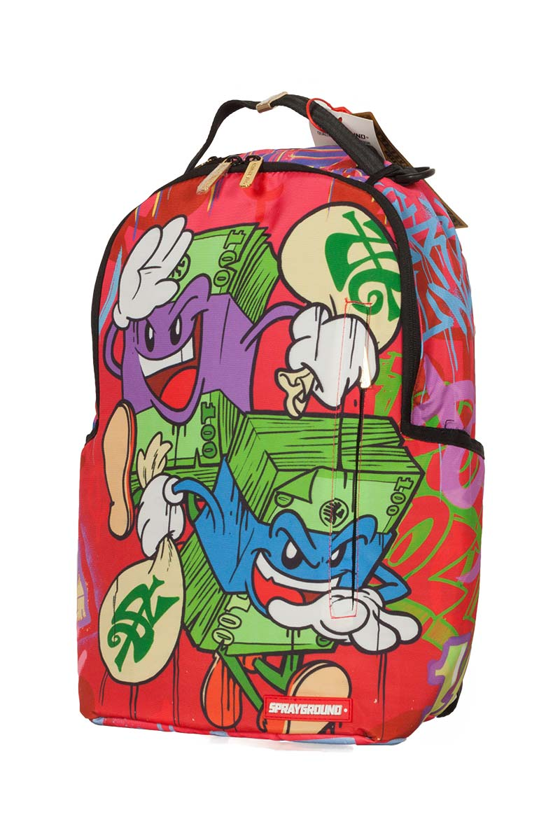 Sprayground backpack Money Stacks on the run
