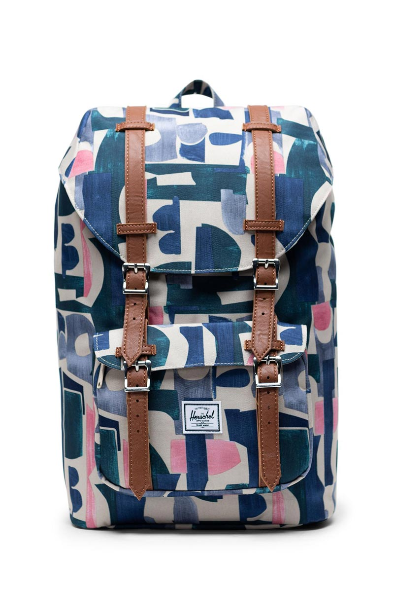 Herschel Supply Co. Little America mid volume backpack abstract block - 10020-02995-os