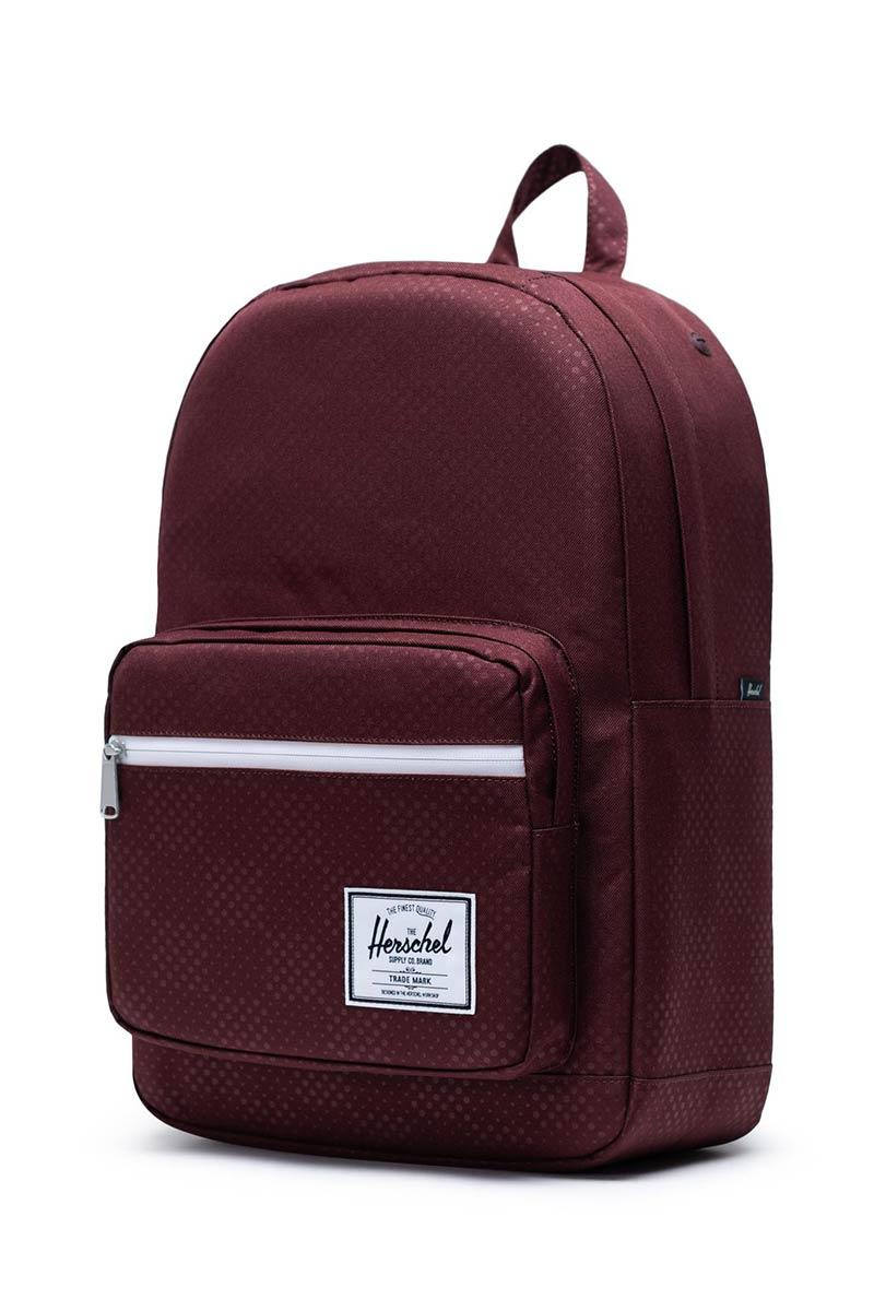Herschel Supply Co. Pop Quiz backpack plum dot check