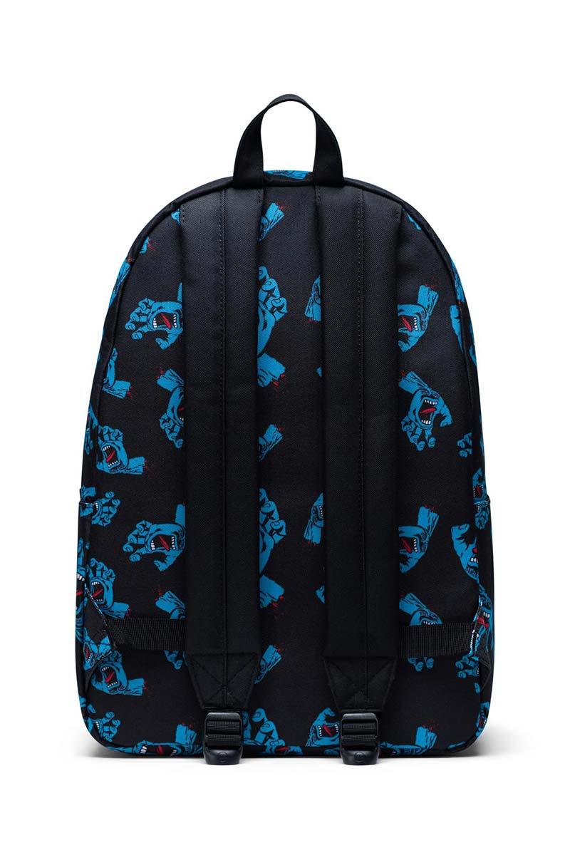 Herschel Supply Co. Classic XL backpack black cyan screaming hand