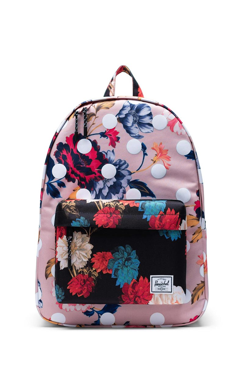 Herschel Supply Co. Classic backpack winter floral/vintage floral black/polka - 10500-03177-os
