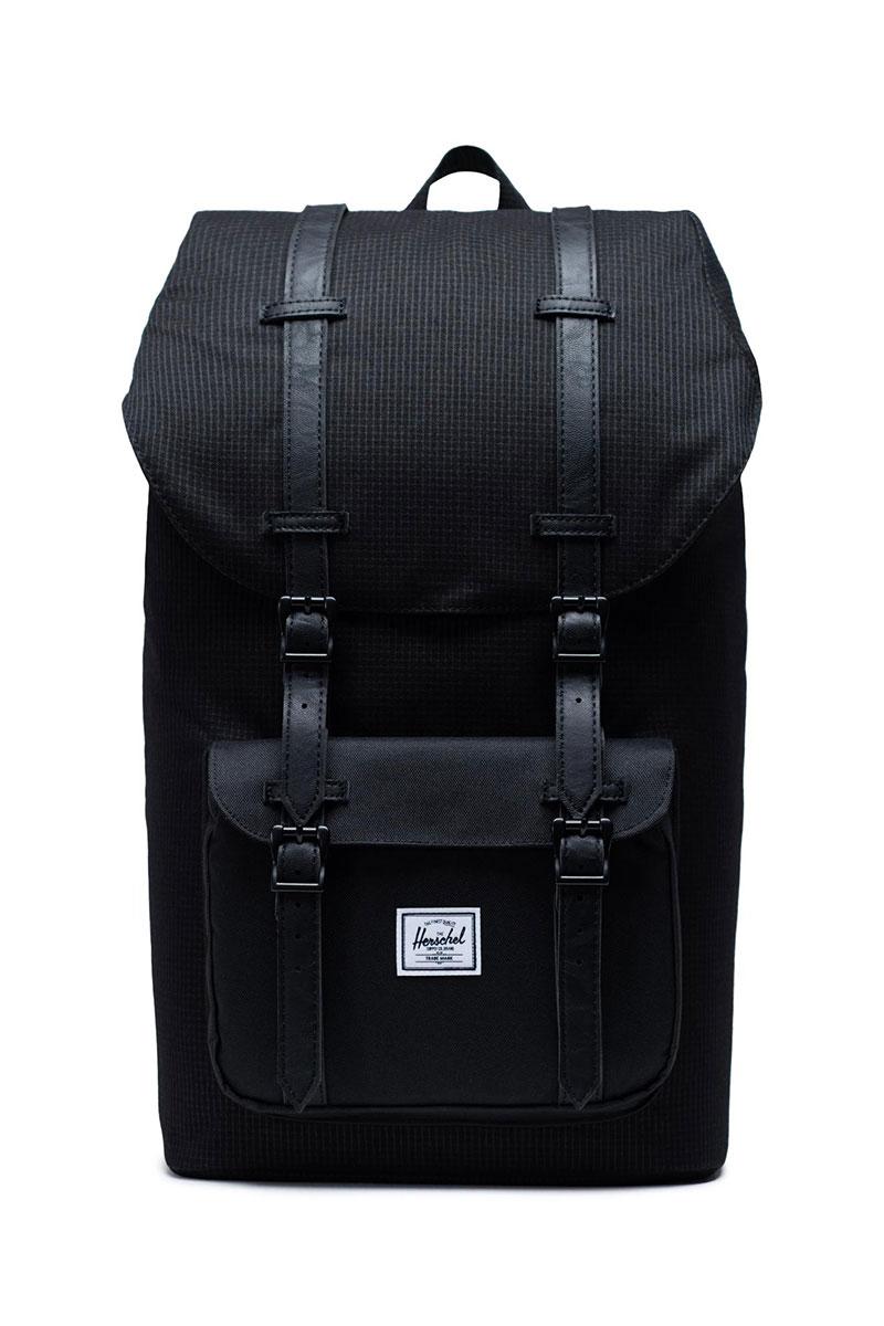 Herschel Supply Co. Little America backpack dark grid/black - 10014-02993-os